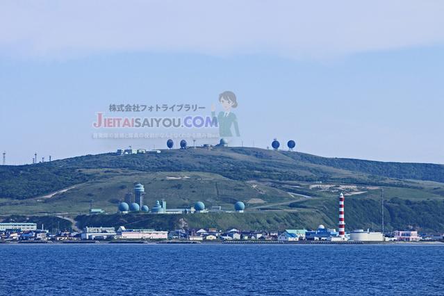 航空自衛隊第18警戒隊のレーダーサイト(北海道稚内市)