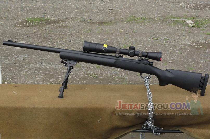 陸上自衛隊が対人狙撃銃M24SWSを導入
