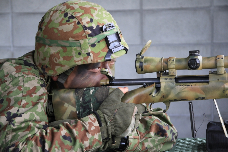 M24SWSを構える狙撃手